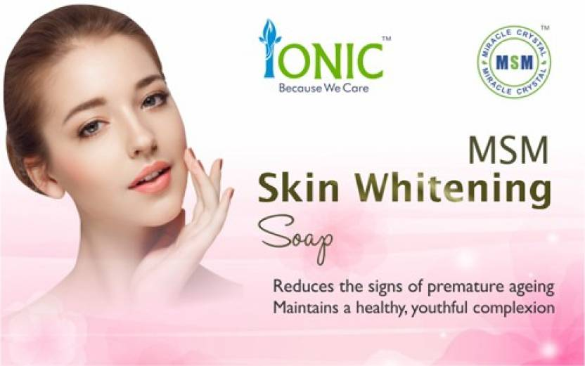 Ionic MSM Skin Whitening Soap - Price in India, Buy Ionic