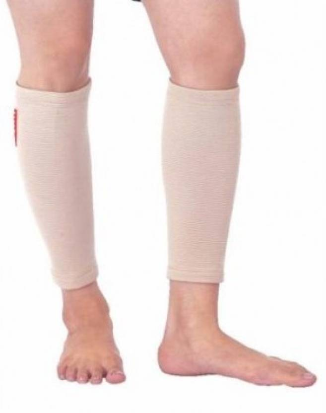 004589996a Flamingo CALF SUPPORT Knee, Calf & Thigh Support (S, Beige) - Buy ...