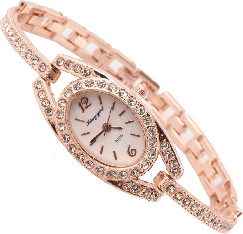 c0d03582740 Aelo Party Time -Designer Rose Gold Bracelet Watch - For Women - Buy Aelo  Party Time -Designer Rose Gold Bracelet Watch - For Women Party Time  -Designer ...