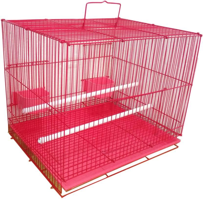 09e1472ba Petshop7 Bird Cage Red Bird House Price in India - Buy Petshop7 Bird ...