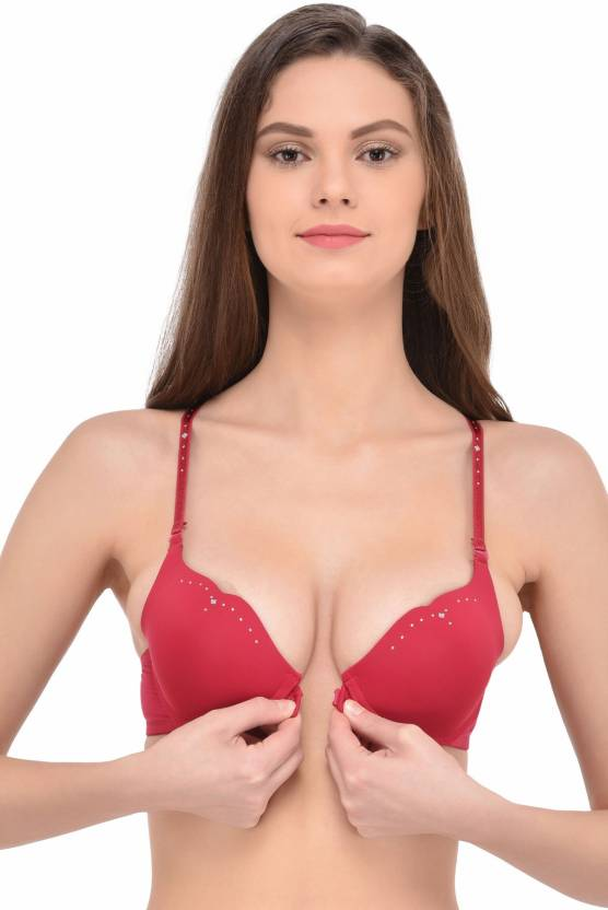 530a6f7336edb PrettyCat Women s Push-up Heavily Padded Bra - Buy PrettyCat Women s ...