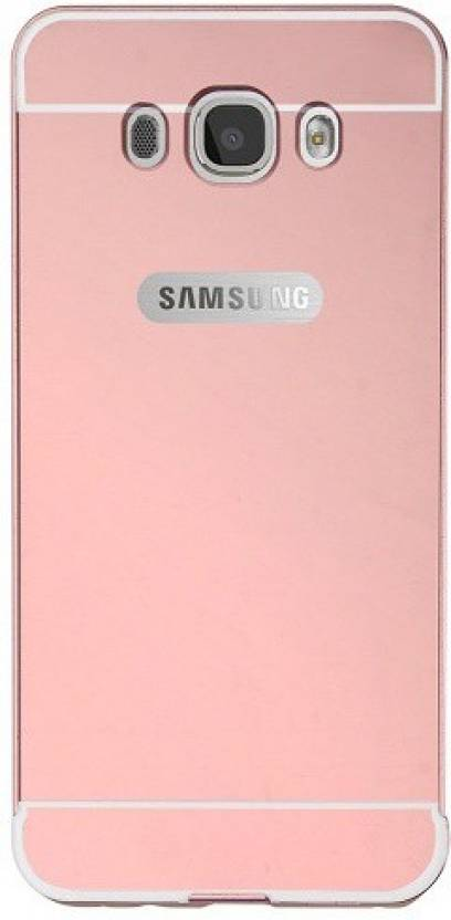 PRAYAS MARKETING Back Cover for SAMSUNG GALAXY J7 2016/J710 (ROSE GOLD, Metal, Plastic)