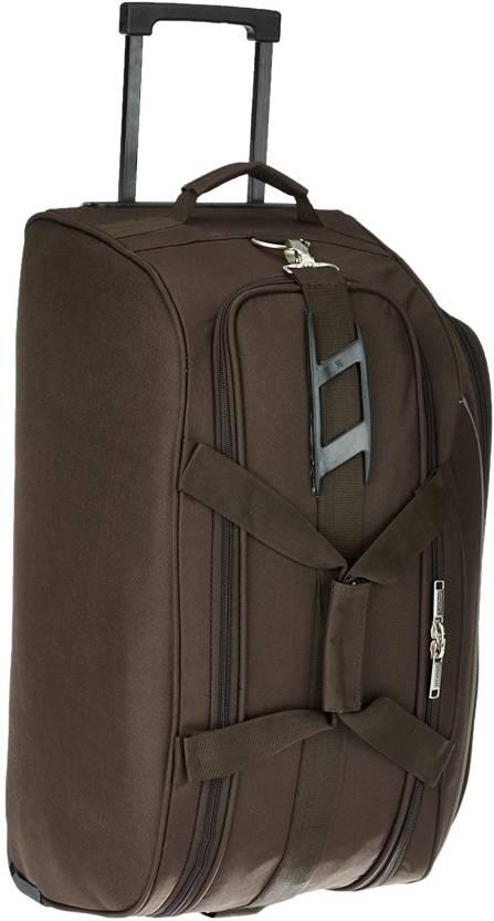 To Pr0030155 Cf Turin Duffle Trolley 55 Coffee Travel Duffel Bag