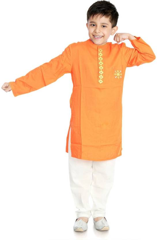90a856988 Little pockets store Boys Festive & Party Kurta and Pyjama Set (Multicolor  Pack of 1)