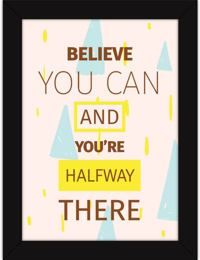 Motivational Posters For Room and Home Decor - Inspirational Wall ...