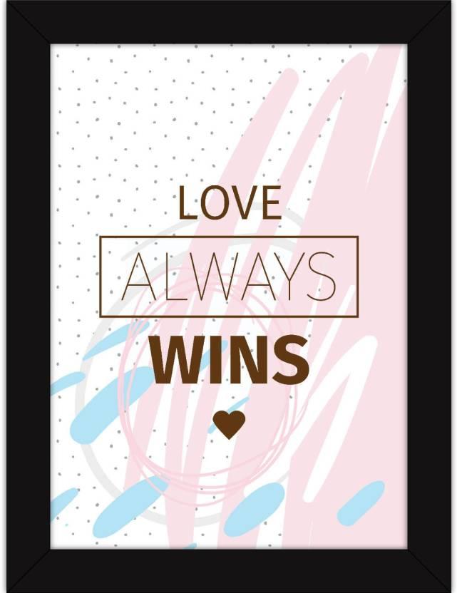 Framed Poster For Girls Room Decor - Motivational Quotes On Life For ...