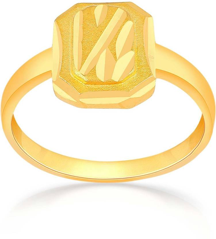 Malabar Gold and Diamonds Malabar 22kt Yellow Gold ring Price in