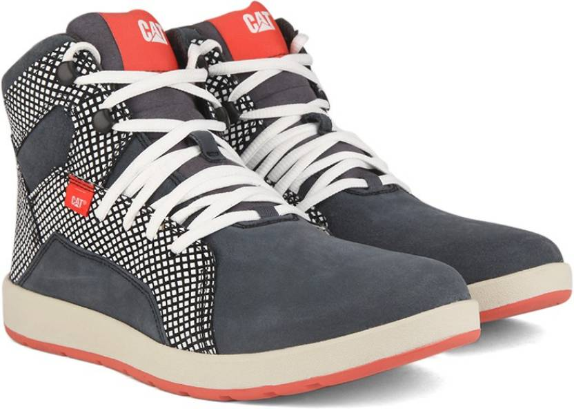 CAT SHAW High Ankle Sneakers For Men