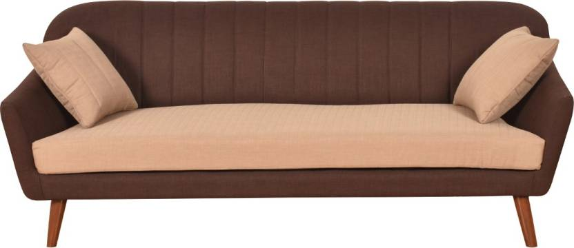 Furny Ozzie Compact Fabric 3 Seater Standard