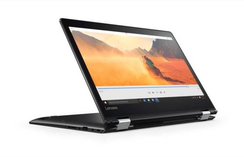 Lenovo APU Dual Core A9 6th Gen - (4 GB/1 TB HDD/Windows 10 Home) Yoga 510 2 in 1 Laptop  (14 inch, Black)
