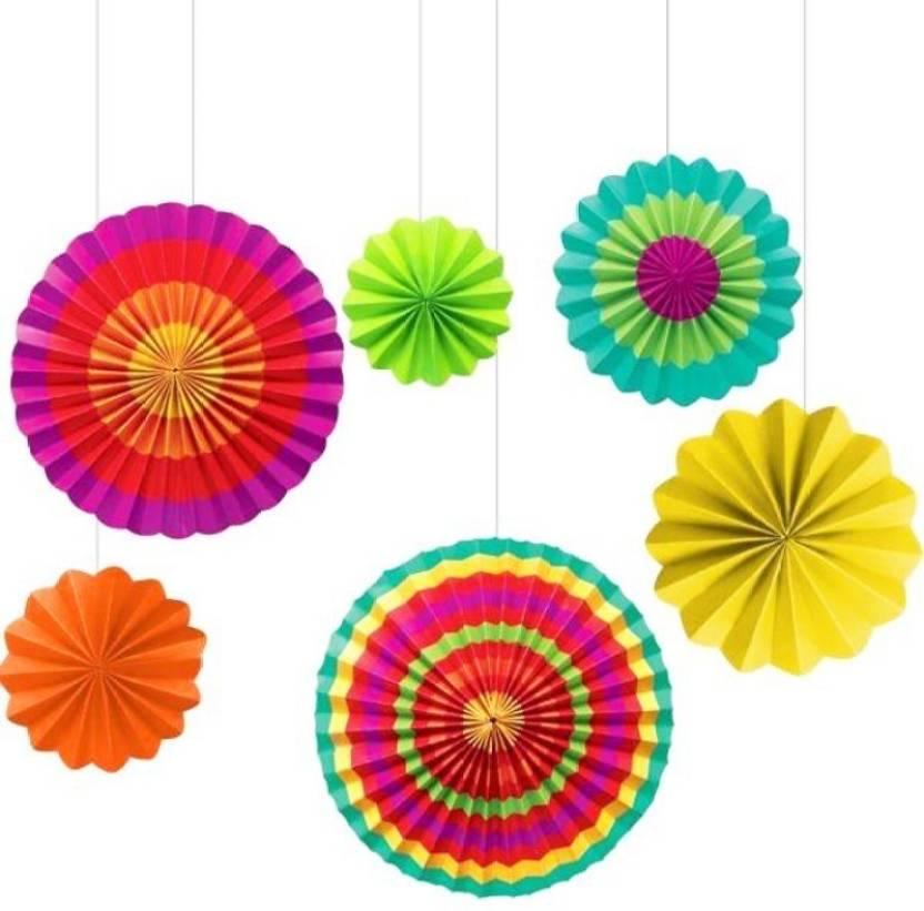 paper fan decorations
