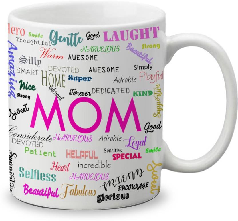 LOF Gifts For Mummy Mothers Day And Birthday Mom Maa 325ml Ceramic Mug
