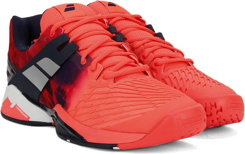 Babolat PROPULSE FURY ALL COURT M Tennis Shoes For Men - Buy Fluo ... 473e585d4cf