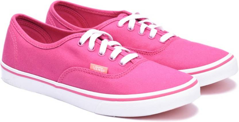 c6bbaade41 Vans Authentic Lo Pro Canvas Shoes For Men - Buy (Canvas) lilac rose ...