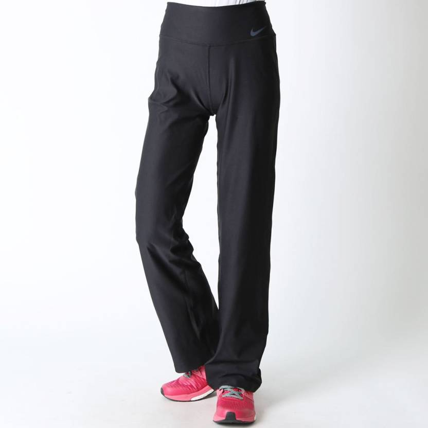 how to serch good quality cheap prices Nike Solid Women's Black Track Pants