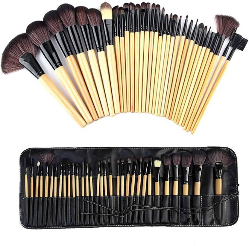 850fbd994499 Ladista Professional Makeup Brushes Set Natural Cosmetic Brush set ...