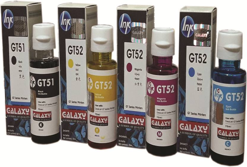Galaxy HP GT 5810,5820 Deskjet inkjet Series Multi Color Ink Cartridge