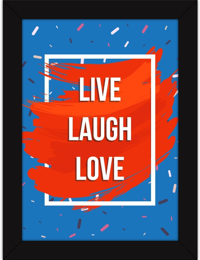 Live Love Laugh Home Decor Red Floral Decor Metal Light Switch Plate Cover