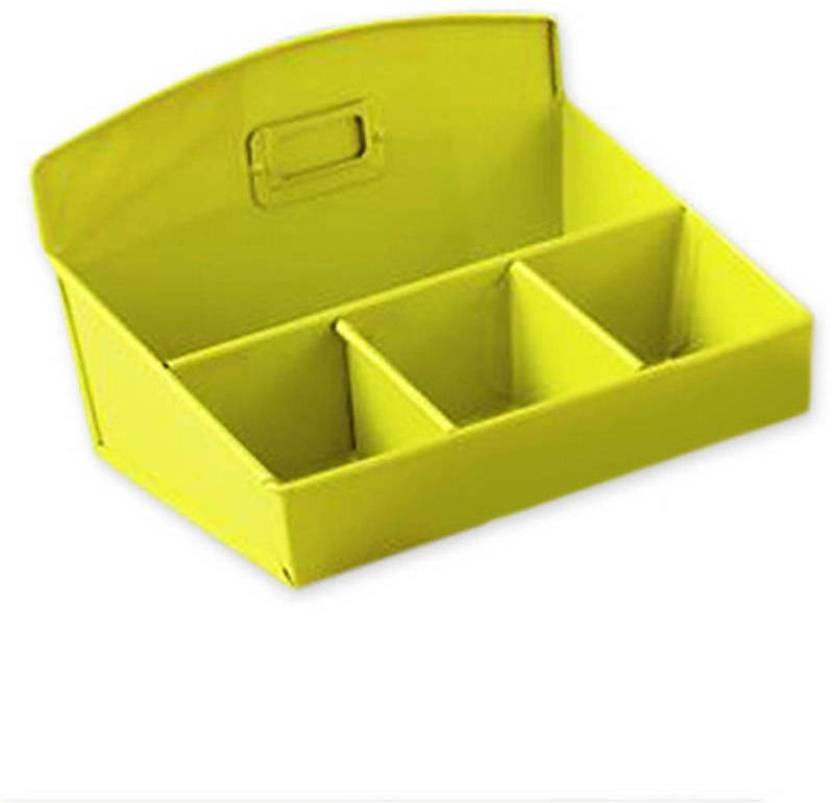 The New Look 4 Compartments Mild Steel Desk Organizer