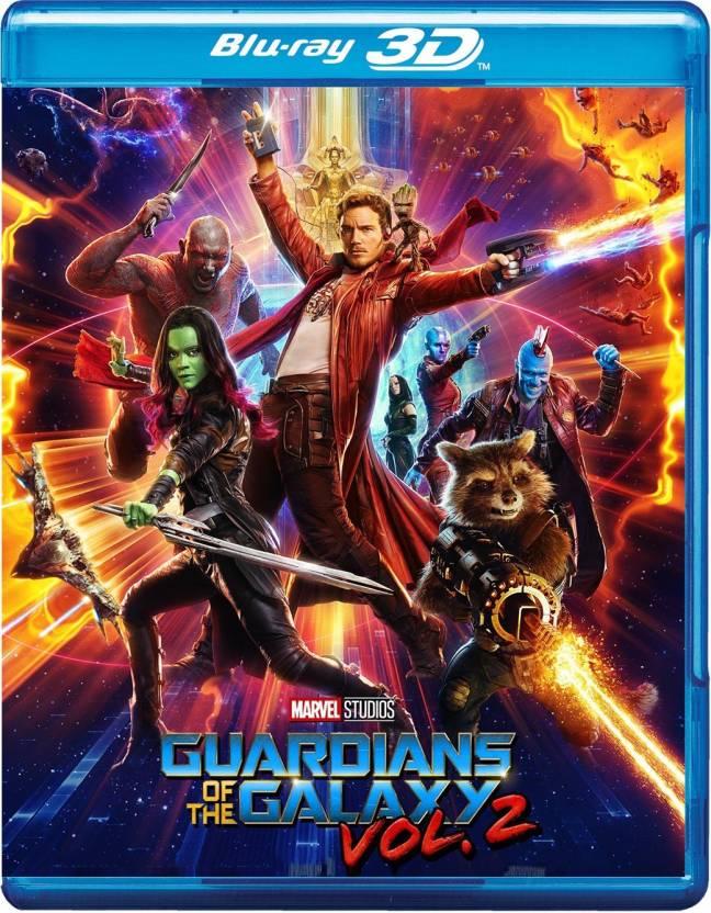Guardians Of The Galaxy Vol. 2 - 3D BD