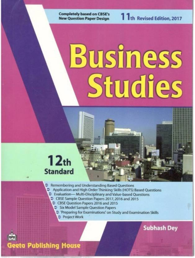 Business studies a textbook by subhash dey for class 12 price in business studies a textbook by subhash dey for class 12 malvernweather Choice Image