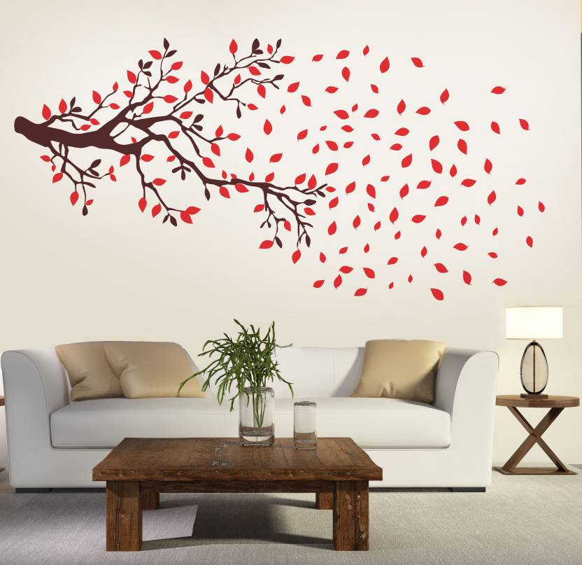 New Way Decals Wall Sticker Floral Botanical Wallpaper Price In