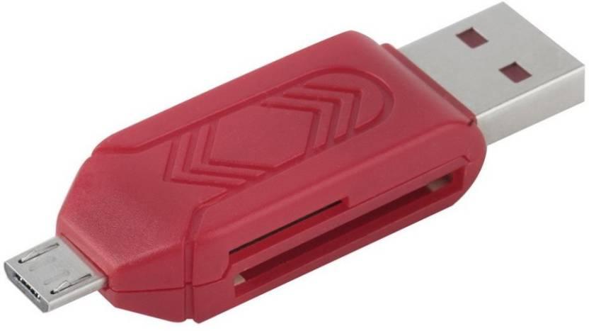 HD OTG Multi SD + Micro SD Card Reader