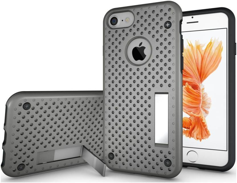 Cubix Back Cover for Apple iPhone 7 Grey