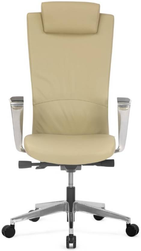 Nilkamal Jiffy Leather High Back Leatherette Office Arm Chair Price