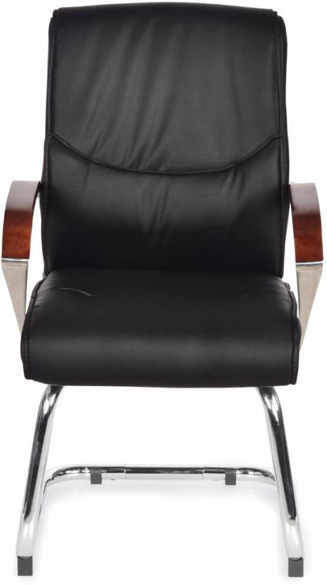 Nilkamal Boss Leather Back Leatherette Office Arm Chair Price In