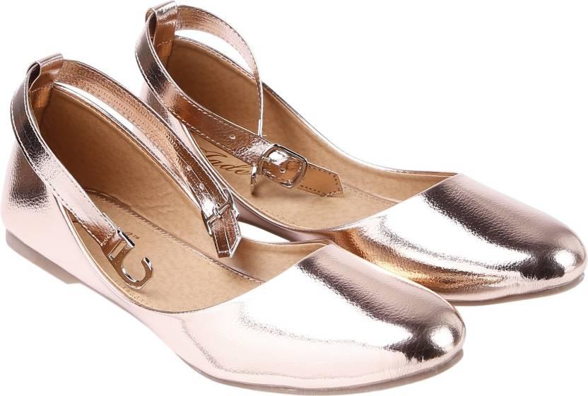 280eea48a29f Jade Women Rosegold Bellies - Buy Jade Women Rosegold Bellies Online at Best  Price - Shop Online for Footwears in India | Flipkart.com