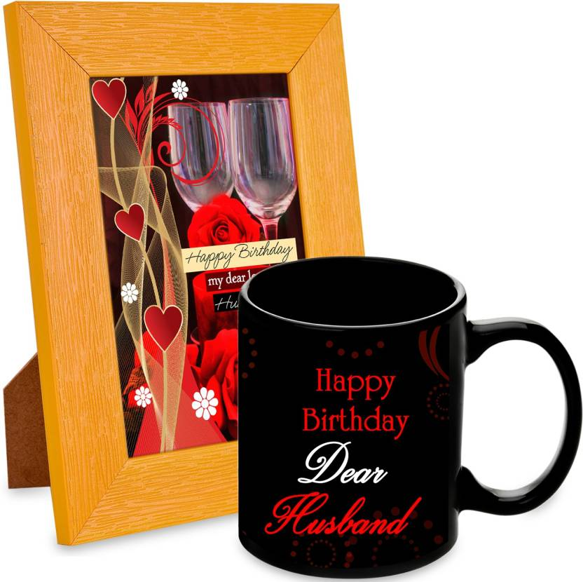 AlwaysGift Happy Birthday My Dear Loving Husband Hamper Mug Gift Set Price In India