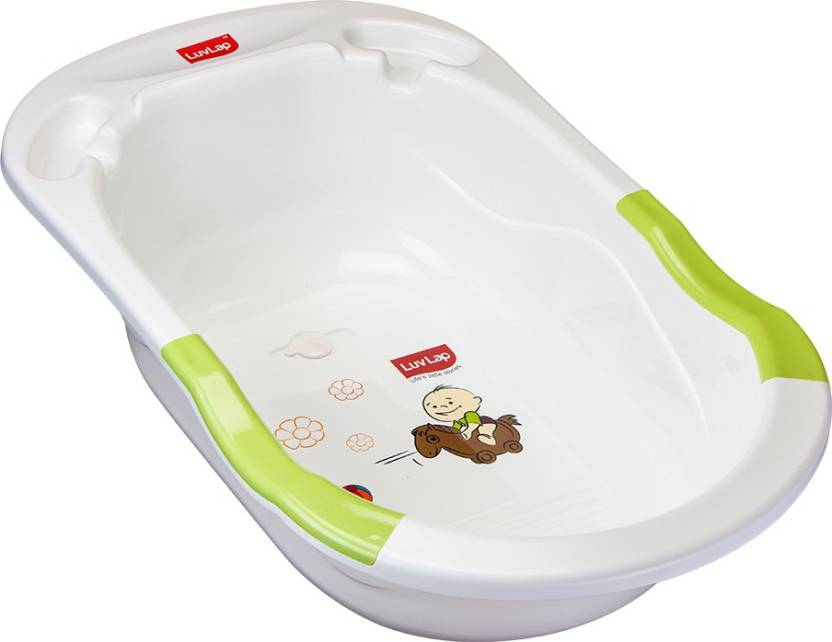 LuvLap Baby Bubble Bathtub with Anti-Slip - Green Price in India ...