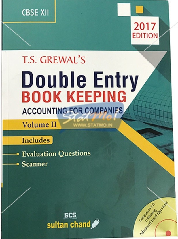 Accounts Book For Class 11 Ts Grewal Pdf