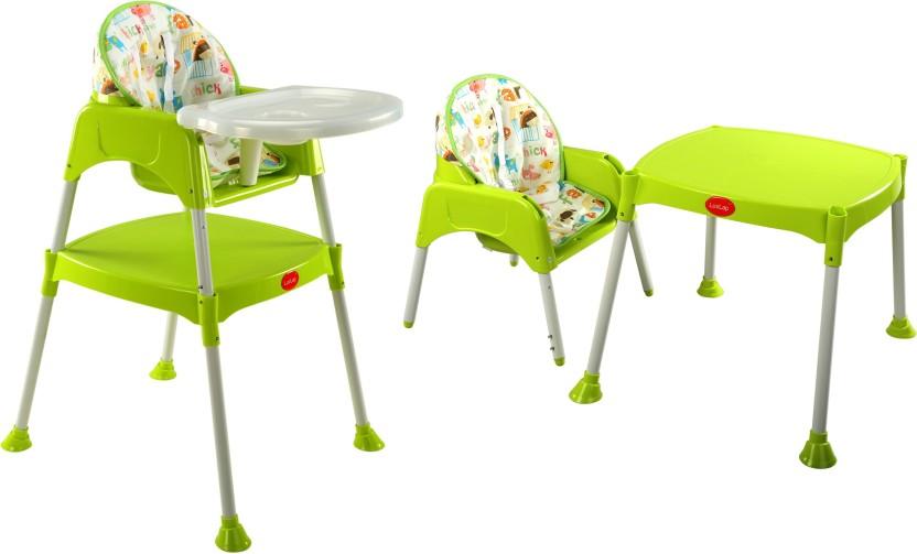 LuvLap 3 in 1 Baby High chair - Green  sc 1 st  Flipkart & LuvLap 3 in 1 Baby High chair - Green - Buy Baby Care Products in ...