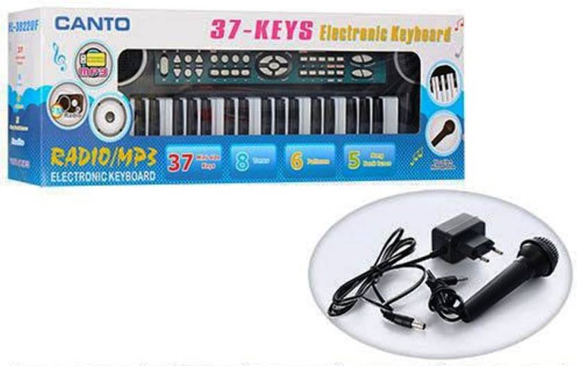 Jaibros Canto 37-Keys Electronic Keyboard with FM Radio/mp3 Price in ...