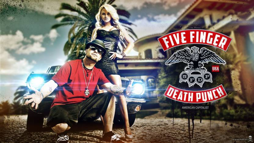 Music Five Finger Death Punch Band Music United States Hd