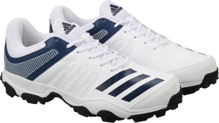 ADIDAS HOWZAT IND Cricket Shoes For Men - Buy FTWWHT MYSBLU Color ... e1992ac4d