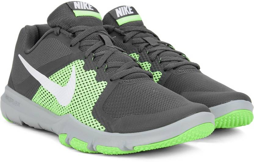 timeless design 20a41 c5b02 Nike Flex Control Running Shoes For Men Dark Grey White Ghost