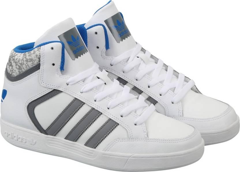 adidas originali varial metà scarpe per gli uomini comprano ftwwht / grey