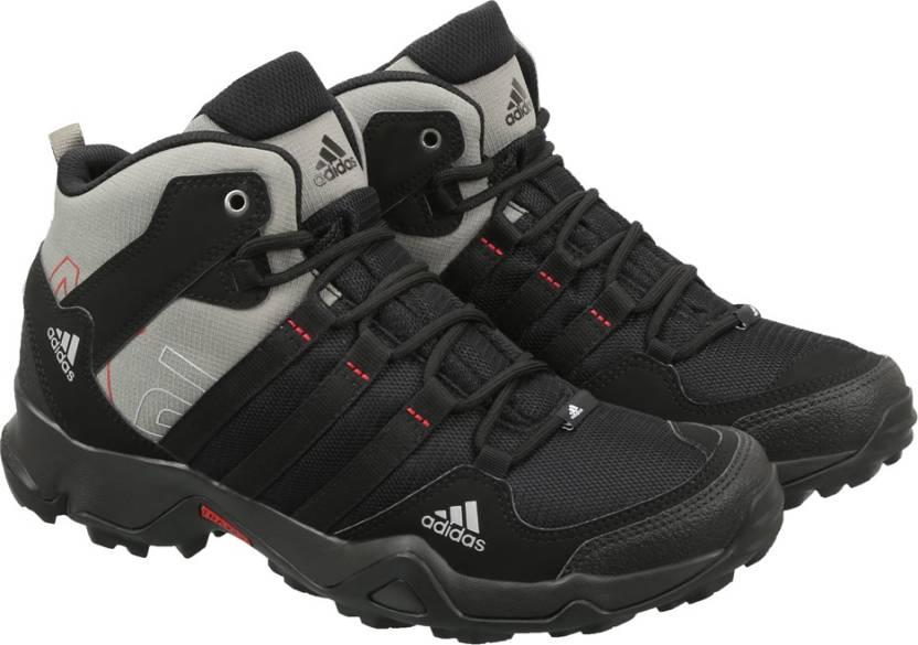 adidas ax2 metà all'aperto per gli uomini comprano scarpe cblack / cblack / tracar / scar