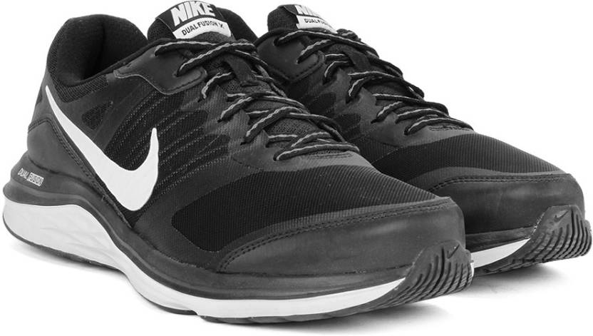 b298c8acb10c Nike DUAL FUSION X MSL Running Shoes For Men - Buy BLACK WHITE-COOL ...