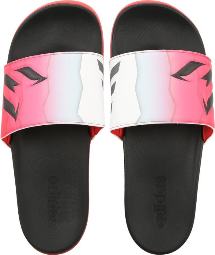 7984fc3ee003a6 ADIDAS ADILETTE CF+ MESSI Slides - Buy CBLACK GRANIT RED Color ADIDAS  ADILETTE CF+ MESSI Slides Online at Best Price - Shop Online for Footwears  in India ...
