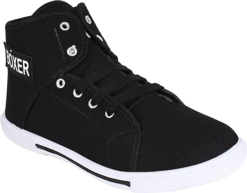 Oricum Boxer-303 Sneakers  (Black)
