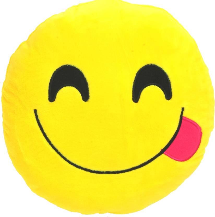 Chords Chords Yummy Smiley Emoticon plush soft toy cushion - 3 cm ...