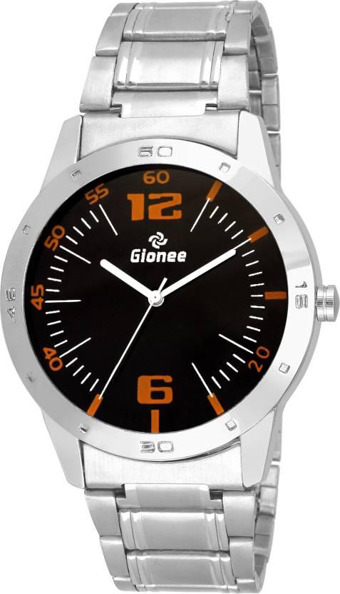 dd7319ed7def Gionee Round Analog Black Round Dial Silver Chain Wrist Watch Watch - For  Men - Buy Gionee Round Analog Black Round Dial Silver Chain Wrist Watch  Watch ...