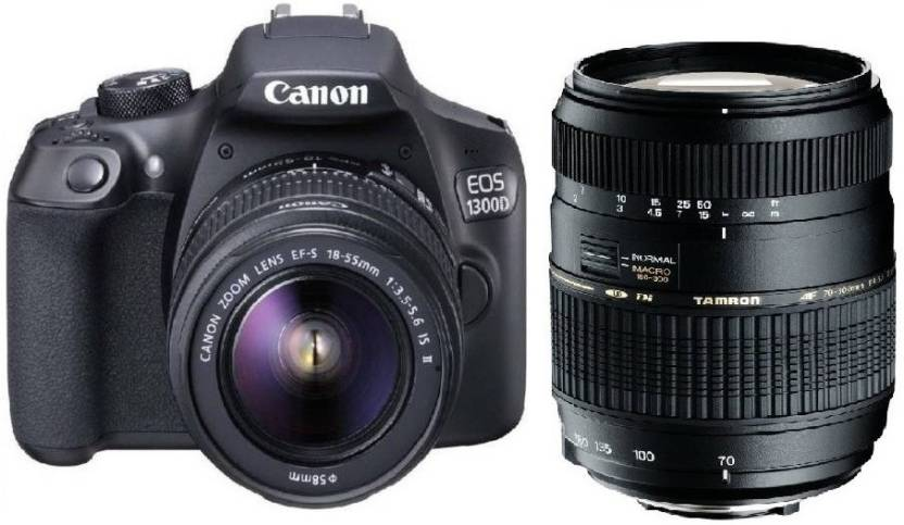 Canon 1300D DSLR Camera Body With Dual Lens EF S 18 55