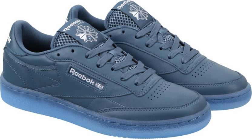 01aa91632357 REEBOK CLUB C 85 ICE Sneakers For Men - Buy BRAVE BLUE WHITE-ICE ...