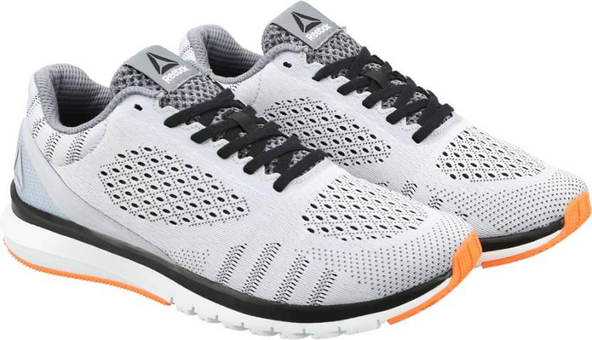 REEBOK PRINT SMOOTH ULTK Running Shoes For Men - Buy GREY BLK BLUE ... e83e34421