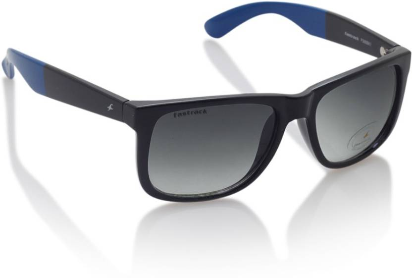 537a4a596 Buy Fastrack Wayfarer Sunglasses Blue For Men Online @ Best Prices ...